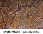 natural stone orange marble...   Shutterstock . vector #1380821051