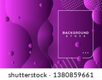 abstract background with purple ... | Shutterstock .eps vector #1380859661