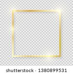 gold shiny glowing vintage... | Shutterstock .eps vector #1380899531
