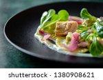 traditional stuffed dumplings... | Shutterstock . vector #1380908621