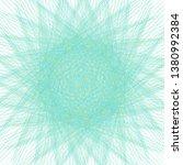 spirograph pattern complicated... | Shutterstock .eps vector #1380992384