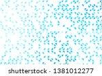 light blue vector backdrop with ... | Shutterstock .eps vector #1381012277