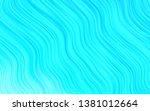 light blue vector backdrop with ... | Shutterstock .eps vector #1381012664