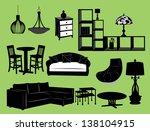living room | Shutterstock .eps vector #138104915