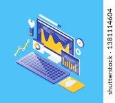 seo analysis  business... | Shutterstock .eps vector #1381114604