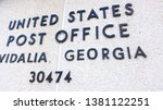 vidalia  georgia   usa   march... | Shutterstock . vector #1381122251