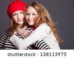 two friends in the studio | Shutterstock . vector #138113975