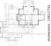 architectural background. part...   Shutterstock .eps vector #138117761