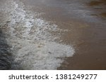 art of tides in the river   Shutterstock . vector #1381249277