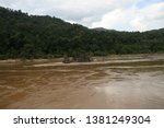 art of tides in the river   Shutterstock . vector #1381249304
