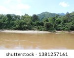 view of the river side   Shutterstock . vector #1381257161