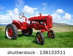 Authentic Red Tractor In...