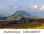 nature landscape mountain in... | Shutterstock . vector #1381360547
