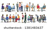 business life  development and... | Shutterstock .eps vector #1381483637