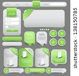web designing element | Shutterstock .eps vector #138150785