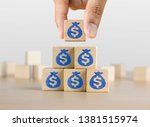 business growth  increase... | Shutterstock . vector #1381515974