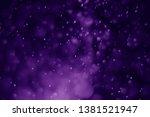 Bokeh Purple Proton Background...