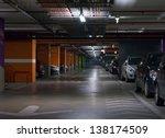 parking garage  underground... | Shutterstock . vector #138174509