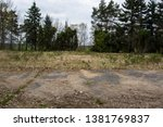 Abandoned War Cemetery Area...