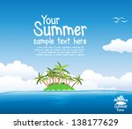 summer background   Shutterstock .eps vector #138177629