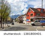 vaduz  liechtenstein   april 16 ... | Shutterstock . vector #1381800401