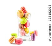 traditional french colorful... | Shutterstock . vector #138182015