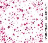 falling stars confetti... | Shutterstock .eps vector #1381893074