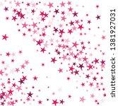 falling stars confetti... | Shutterstock .eps vector #1381927031