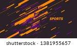 modern colored poster for... | Shutterstock .eps vector #1381955657
