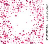 falling stars confetti... | Shutterstock .eps vector #1381976534