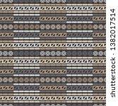 art seamless pattern. winter...   Shutterstock .eps vector #1382017514