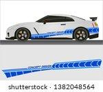 vinyls sticker blue decals for... | Shutterstock .eps vector #1382048564