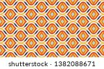 vintage pattern background. ... | Shutterstock .eps vector #1382088671