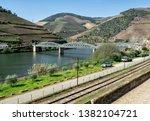 march 25  2019  douro valley ... | Shutterstock . vector #1382104721