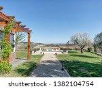 march 25  2019  douro valley ... | Shutterstock . vector #1382104754