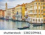 venice  italy   january 04 ...   Shutterstock . vector #1382109461