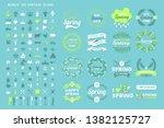 vintage retro vector logo for... | Shutterstock .eps vector #1382125727