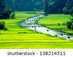 Rice Field And River  Ninhbinh...