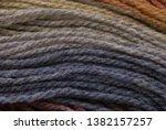 yarn macro texture. gradient...   Shutterstock . vector #1382157257