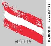flag of austria. vector... | Shutterstock .eps vector #1382169461