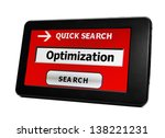 optimization | Shutterstock . vector #138221231
