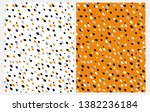 set of 2 abstract seamless...   Shutterstock .eps vector #1382236184