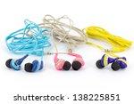Earphones - stock photo