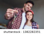 photo of keys from new building ... | Shutterstock . vector #1382282351