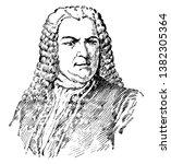 johann sebastian bach  1685...   Shutterstock .eps vector #1382305364