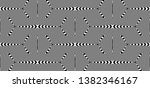 seamless pattern with hypnotic...   Shutterstock .eps vector #1382346167