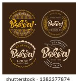 cute lettering hand drawn... | Shutterstock .eps vector #1382377874