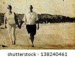 Happy Senior Couple Walking...
