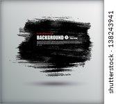 handmade watercolor background. ... | Shutterstock .eps vector #138243941