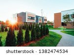 apartments residential house... | Shutterstock . vector #1382474534
